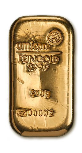 500g gold bar | SIPP Pension Approved